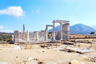 Naxos History Faros Villa Temple of Dimitra Landmark