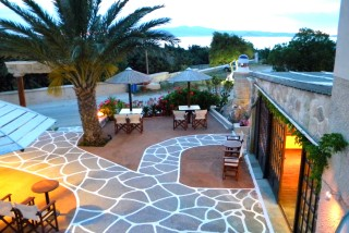 Faros Villa Outdoor Area and Garden