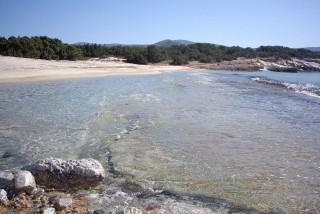 Alyko beach naxos island