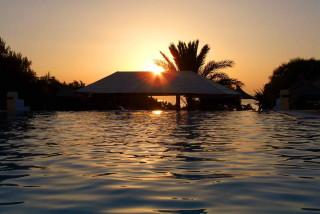 Sunset faros Naxos